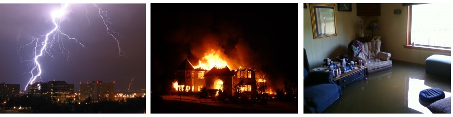Įvertiname žalas gaisrams užpylimams ir žaibams